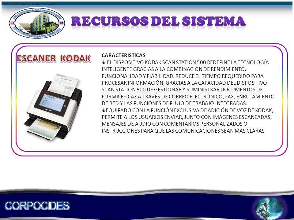 COMUNISMO EN CUBA CARACTERISTICAS EL DISPOSITIVO KODAK SCAN STATION 500 REDEFINE LA TECNOLOGÍA INTELIGENTE GRACIAS A LA COMBINACIÓN DE RENDIMIENTO, FUNCIONALIDAD Y FIABILIDAD.