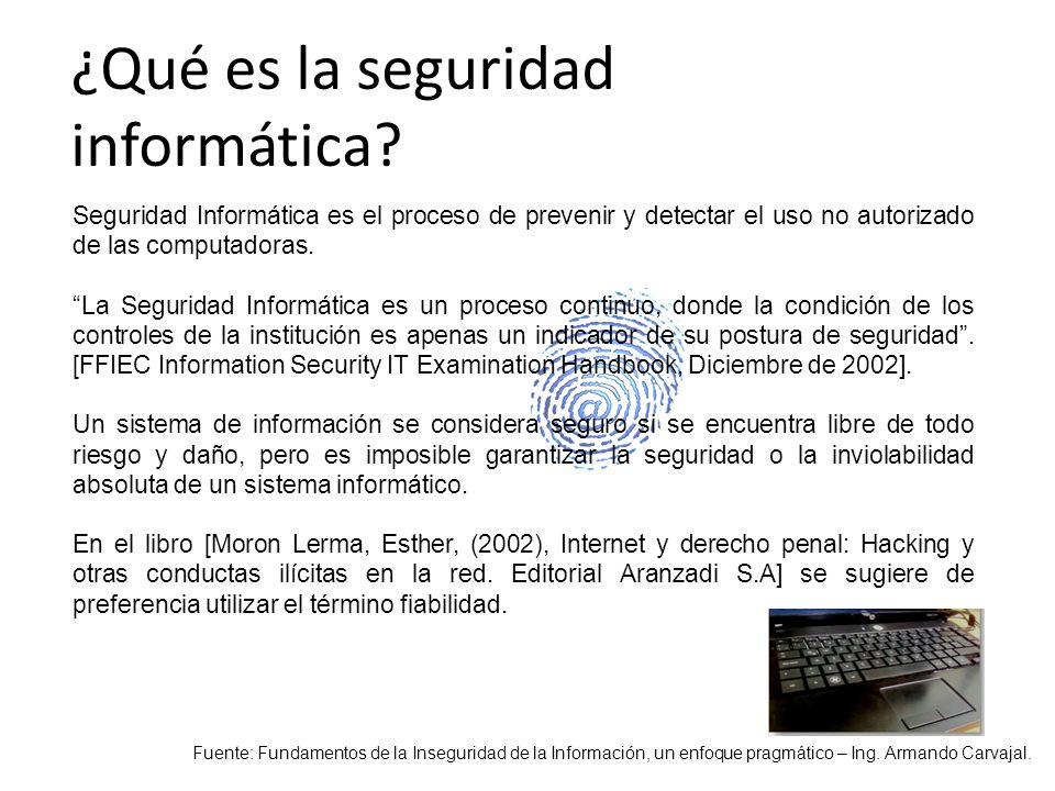 Son todas aquellas medidas preventivas y reactivas del las personas, de las organizaciones y de los sistemas tecnológicos que permiten resguardar y proteger la información.