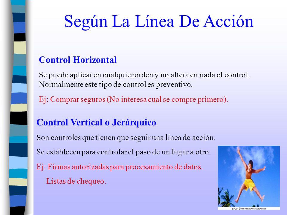 Según La Línea De Acción Control Horizontal Se puede aplicar en cualquier orden y no altera en nada el control. Normalmente este tipo de control es pr