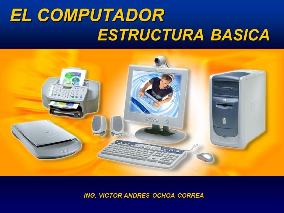 Conceptos básicos Un computador: Es un sistema electrónico rápido y exacto que recibe y procesa datos para convertirlos en información útil.