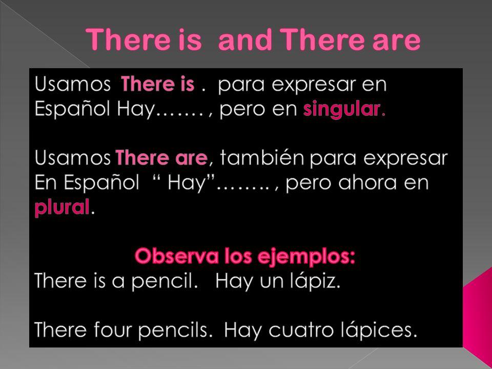 Recuerda que las palabras: Some expresa en Español: algunas / os y Many expresa en Español: muchas / os.