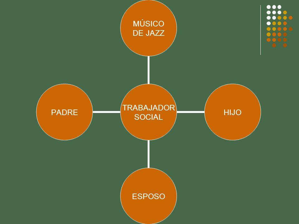 TRABAJADOR SOCIAL MÚSICO DE JAZZ HIJOESPOSOPADRE