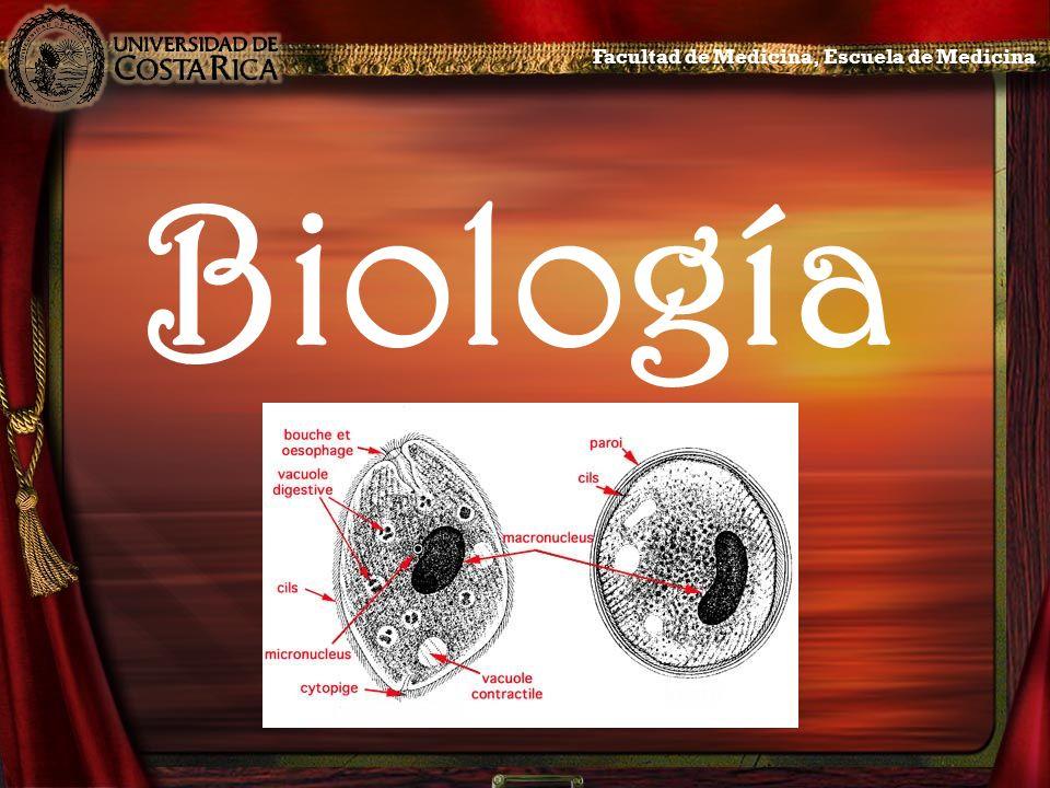 Biología Facultad de Medicina, Escuela de Medicina