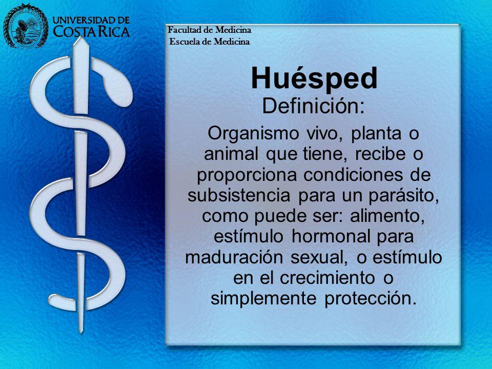 Huésped anfiparaténico Es el que puede funcionar como huésped definitivo o paraténico.