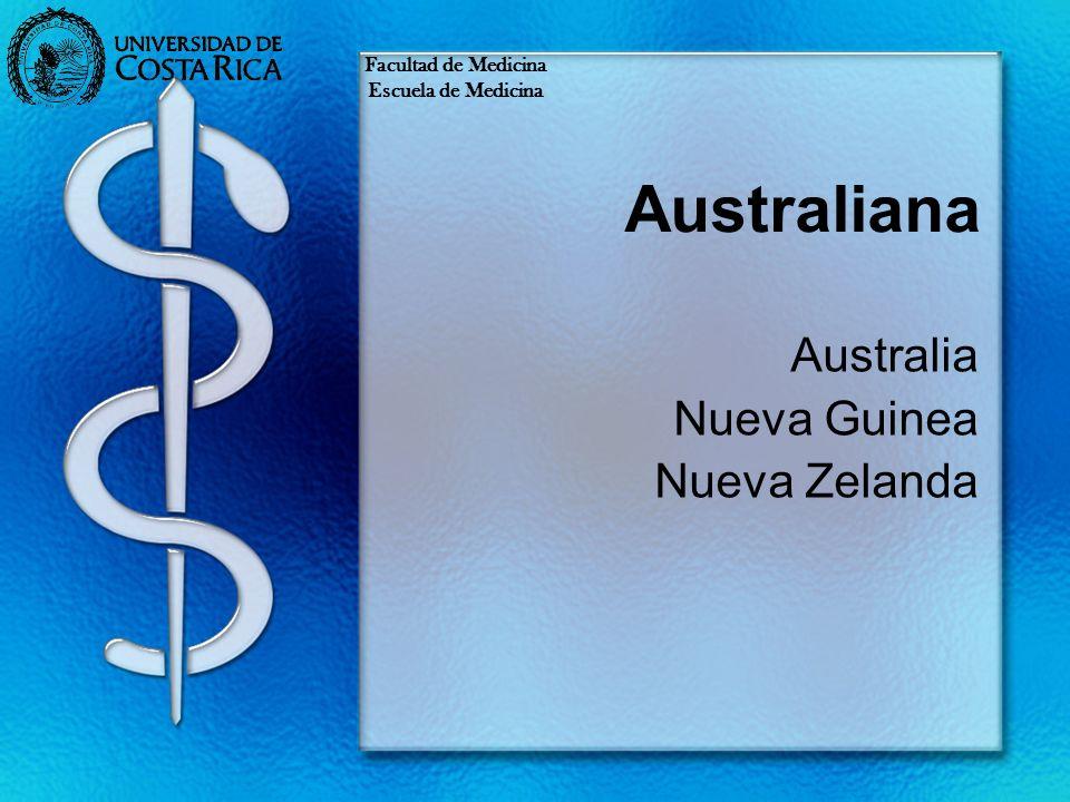 Australiana Australia Nueva Guinea Nueva Zelanda Facultad de Medicina Escuela de Medicina