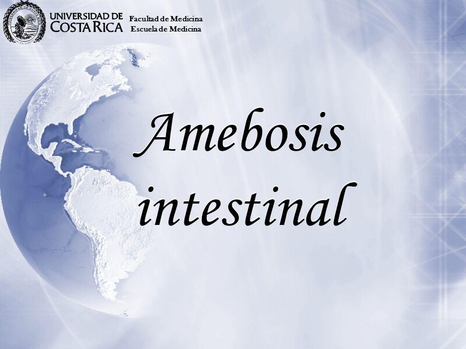 Amebosis intestinal Facultad de Medicina Escuela de Medicina