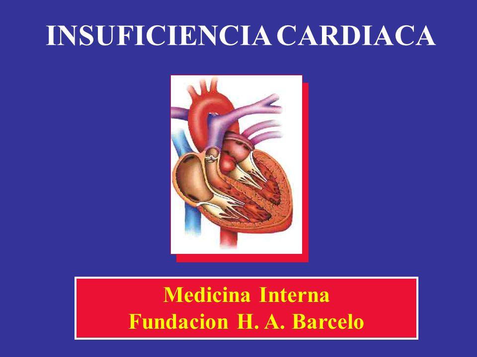 INSUFICIENCIA CARDIACA Medicina Interna Fundacion H. A. Barcelo