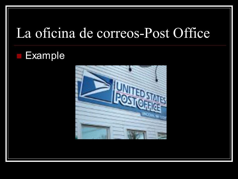 La Entrega -Delivery Example