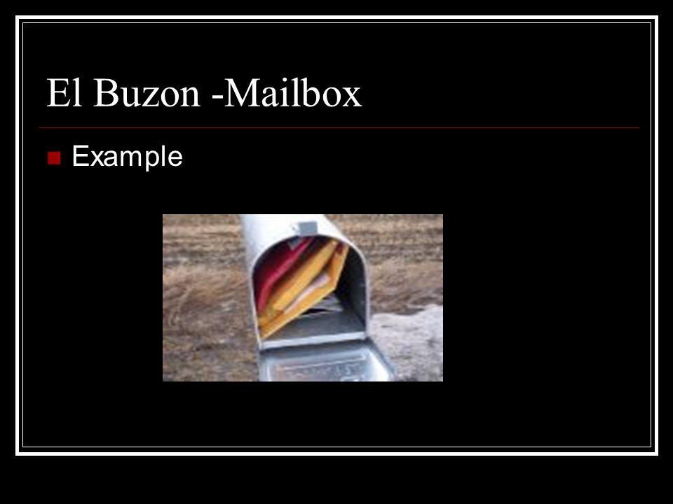 El Apartado Postal-Post Office Box Example