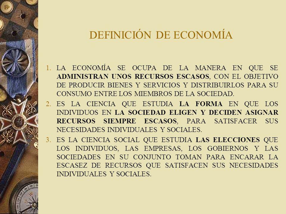 PARA APRENDER UN MODO DE PENSAR: El estudio de la economía nos enseña un modo de pensar y nos ayuda a tomar decisiones.