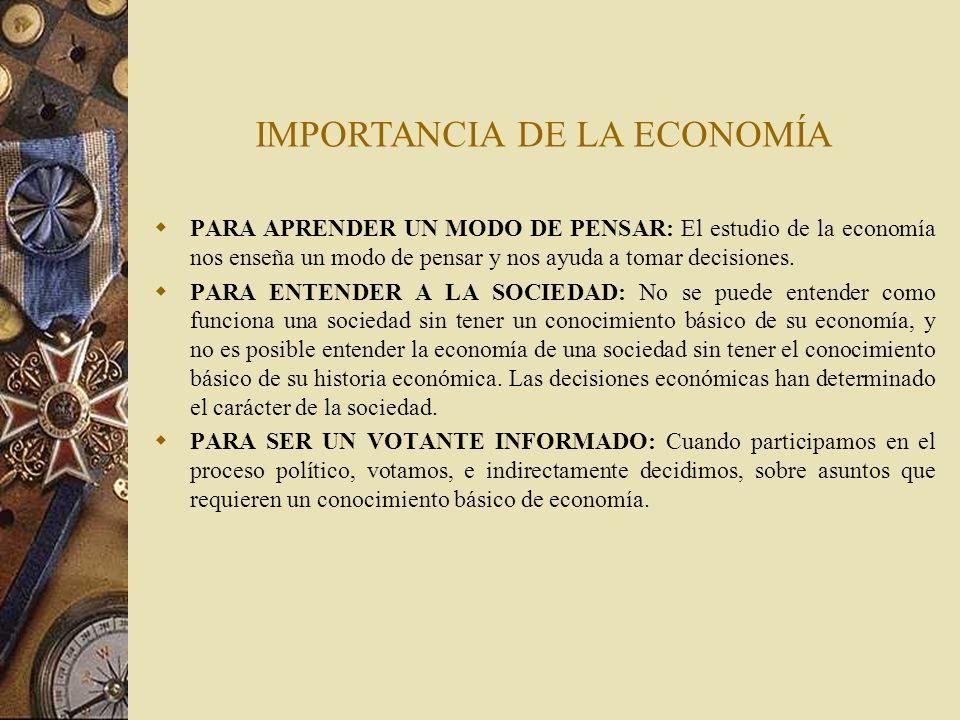 PARA ENTENDER LOS ASUNTOS MUNDIALES: Todos los países forman parte de la economía mundial, y la comprensión de las relaciones internacionales comienza con un conocimiento básico de los vínculos económicos entre los países.