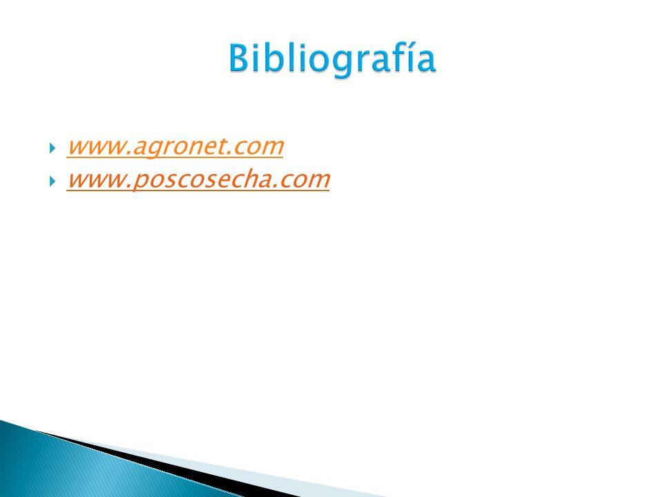 www.agronet.com www.poscosecha.com