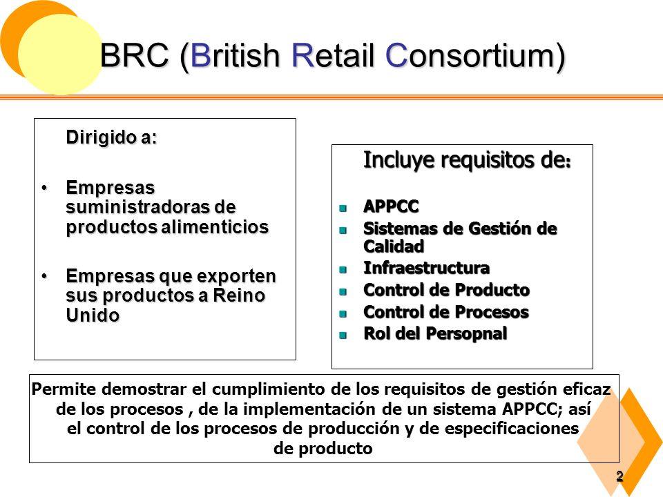 3 EUROGAP (Euro Retails Produce Working Group Good Agriculture Practiques Dirigido a empresas Productoras de frutas, hortalizas y floresDirigido a empresas Productoras de frutas, hortalizas y flores Es la norma requerida para el ingreso de frutas y hortalizas en los mercados de la UE (rige desde enero 2004)Es la norma requerida para el ingreso de frutas y hortalizas en los mercados de la UE (rige desde enero 2004) Es un protocolo creado por una asociación de grandes supermercados (EUREP), que incluye aspectos de BPA, como requisitos de sistemas de calidad, medio ambientales, de higiene alimentaría y control de la calidad del productoEs un protocolo creado por una asociación de grandes supermercados (EUREP), que incluye aspectos de BPA, como requisitos de sistemas de calidad, medio ambientales, de higiene alimentaría y control de la calidad del producto Incluye requisitos de: Trazabilidad Trazabilidad Mantenimiento de Registros Mantenimiento de Registros Variedades y Patrones Variedades y Patrones Historial y Manejo de la Explotación Historial y Manejo de la Explotación Gestión de Suelos y Sustratos Gestión de Suelos y Sustratos Fertilización Fertilización Riego Riego Protección de Cultivos Protección de Cultivos Recolección Recolección Manejo del Producto Manejo del Producto Gestión de Residuos y Agentes Contaminantes: Reciclaje y Reutilización Gestión de Residuos y Agentes Contaminantes: Reciclaje y Reutilización Salud, Seguridad y Bienestar Laboral Salud, Seguridad y Bienestar Laboral Medio Ambiente Medio Ambiente Reclamaciones Reclamaciones