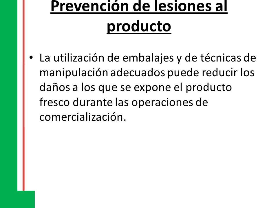 Prevención de lesiones al producto La utilización de embalajes y de técnicas de manipulación adecuados puede reducir los daños a los que se expone el