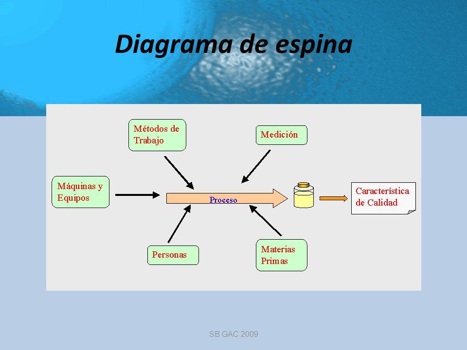 Diagrama de espina SB GAC 2009