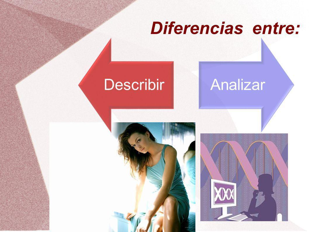 Las investigaciones se agrupan entorno a dos estrategias básicas de investigación: – La descripción de las características de una población: estudios descriptivos.