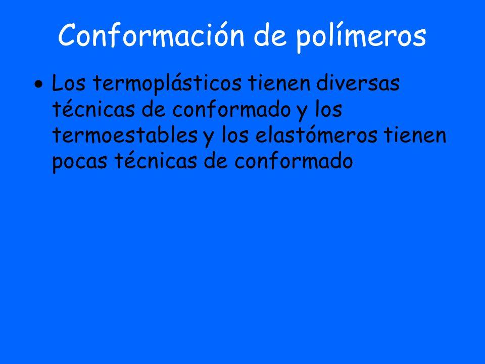 TERMOESTABLES Fenólicos Resinas epoxi Poliésteres insaturados