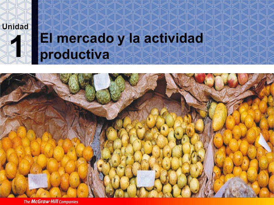 El mercado y la actividad productiva 1 Unidad