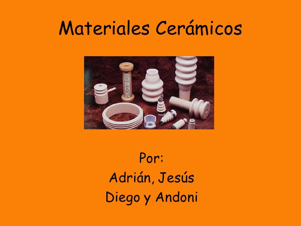 Índice Materiales Cerámicos No Cristalinos.Diagramas de fases.