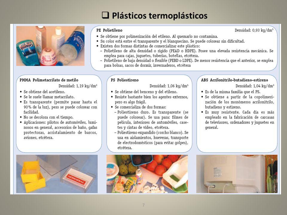 8 Plásticos termoestables