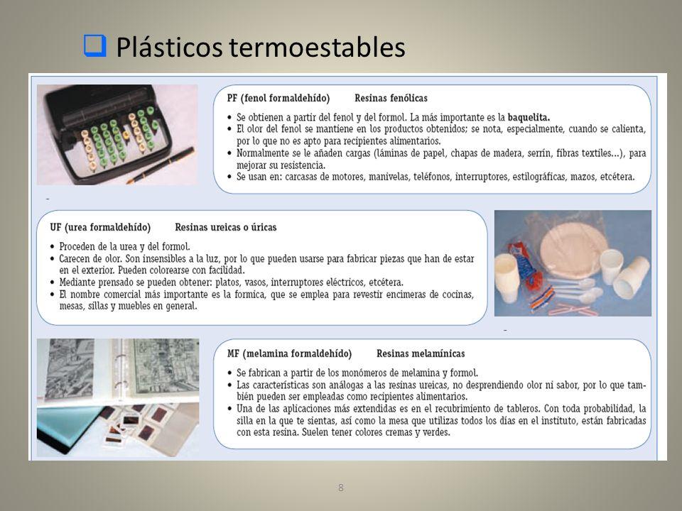 9 Plásticos Termoestables