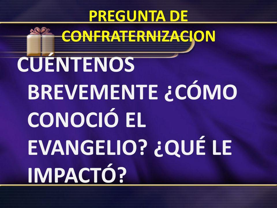 3.-La pregunta de Saulo fue: Señor, ¿qué quieres que haga?, esa también debe ser nuestra pregunta ahora.