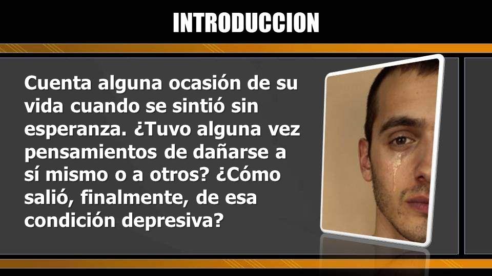 ¿Qué entiendes por depresión? ¿Qué síntomas nos indican que sufrimos de depresión? INTRODUCCION