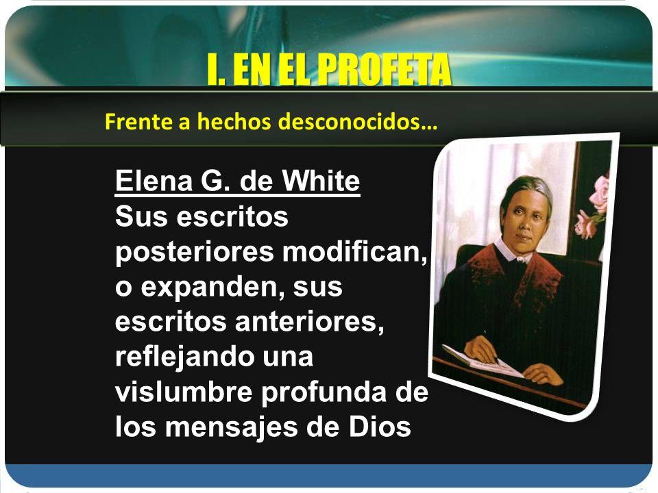 I.EN EL PROFETA Elena G.