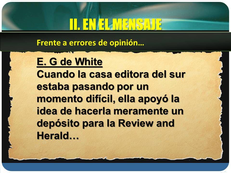 II.EN EL MENSAJE E.