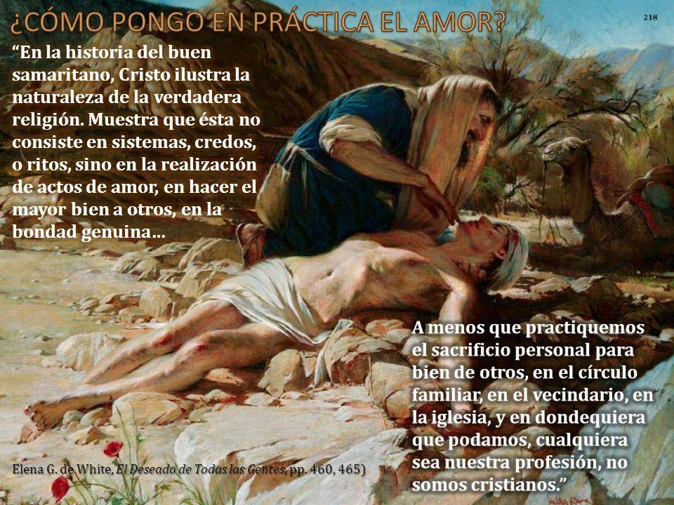 Elena G. de White, El Deseado de Todas las Gentes, pp. 460, 465)