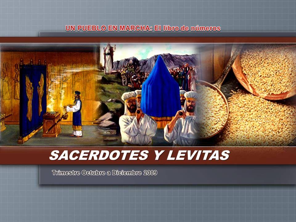II. LOS LEVITAS sirvansirvan Ayudaban a los sacerdotes en el cumplimiento de sus deberes