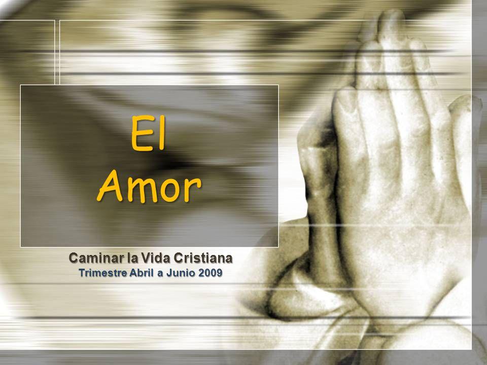 El Amor Caminar la Vida Cristiana Trimestre Abril a Junio 2009