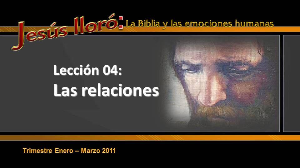 Lección 04: Las relaciones