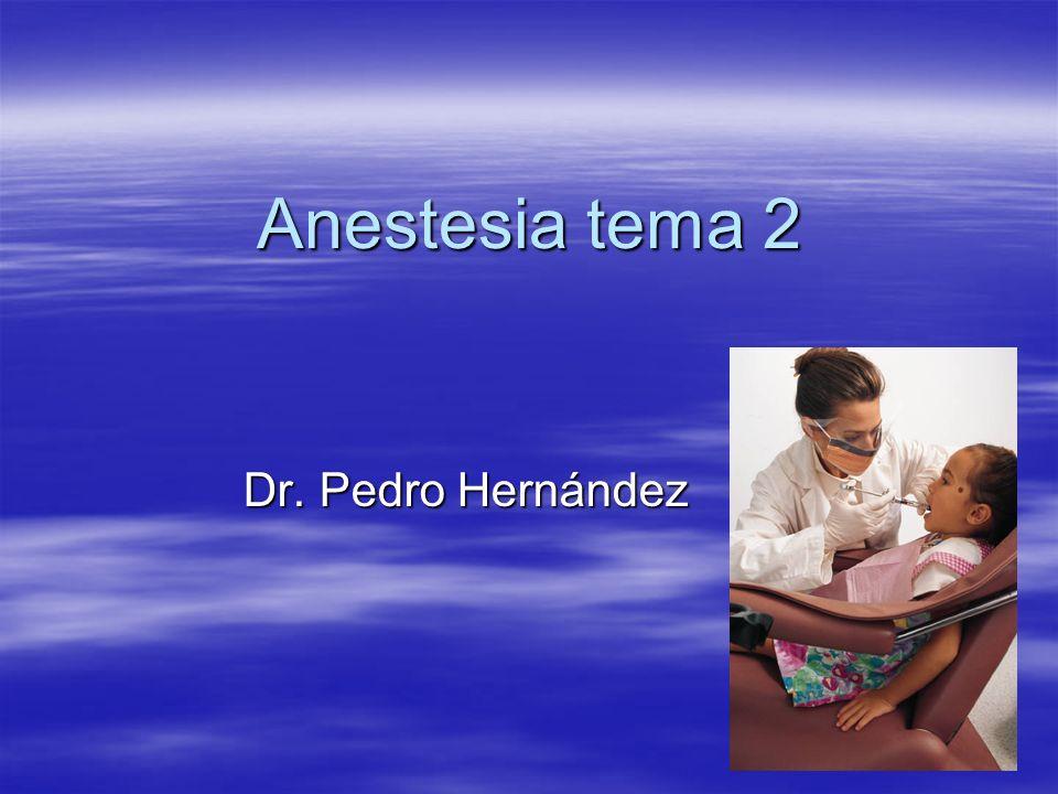 Anestésicos locales más utilizados en la práctica odontológica Lidocaína al 2% sin vasoconstrictor Lidocaína al 2% sin vasoconstrictor Lidocaína al 2% con epinefrina 1:100,000 Lidocaína al 2% con epinefrina 1:100,000 Mepivacaína al 3% sin vasoconstrictor Mepivacaína al 3% sin vasoconstrictor Mepivacaína al 2% con levonorfedrina 1:20,000 Mepivacaína al 2% con levonorfedrina 1:20,000 Prilocaína al 3% con felipresina a 1:30,000 Prilocaína al 3% con felipresina a 1:30,000 Articaína al 4% con epinefrina a 1: 1000,000 Articaína al 4% con epinefrina a 1: 1000,000 Articaína al 0.5% con epinefrina al 1:200,000 Articaína al 0.5% con epinefrina al 1:200,000 Etidocaína al 1.5% con epinefrina a 1:200,000 Etidocaína al 1.5% con epinefrina a 1:200,000 Bupivacaína al 0.5% sin vasoconstrictor Bupivacaína al 0.5% sin vasoconstrictor