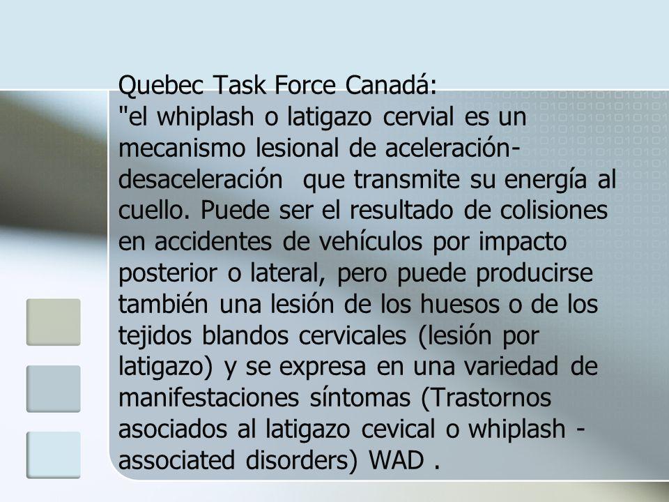 Quebec Task Force Canadá: