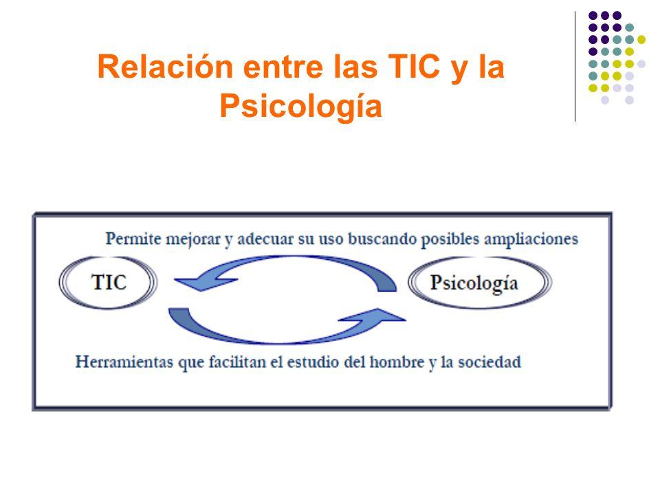 Relación entre las TIC y la Psicología
