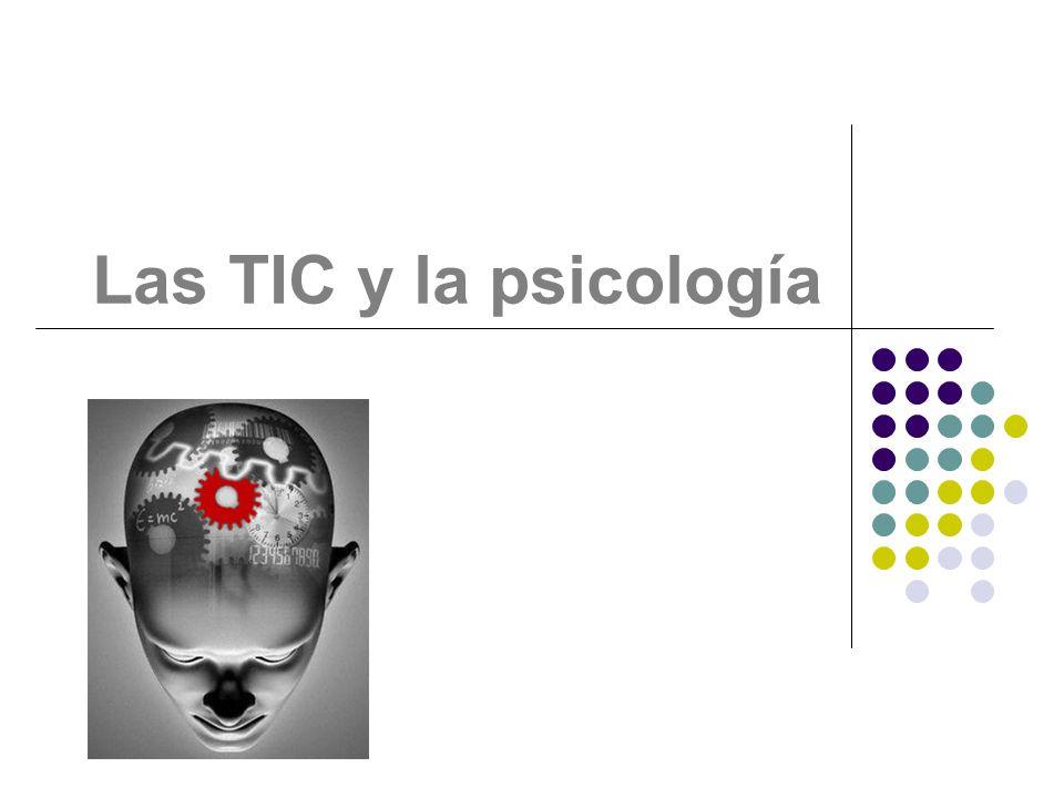 Las TIC y la psicología Mariana Souto
