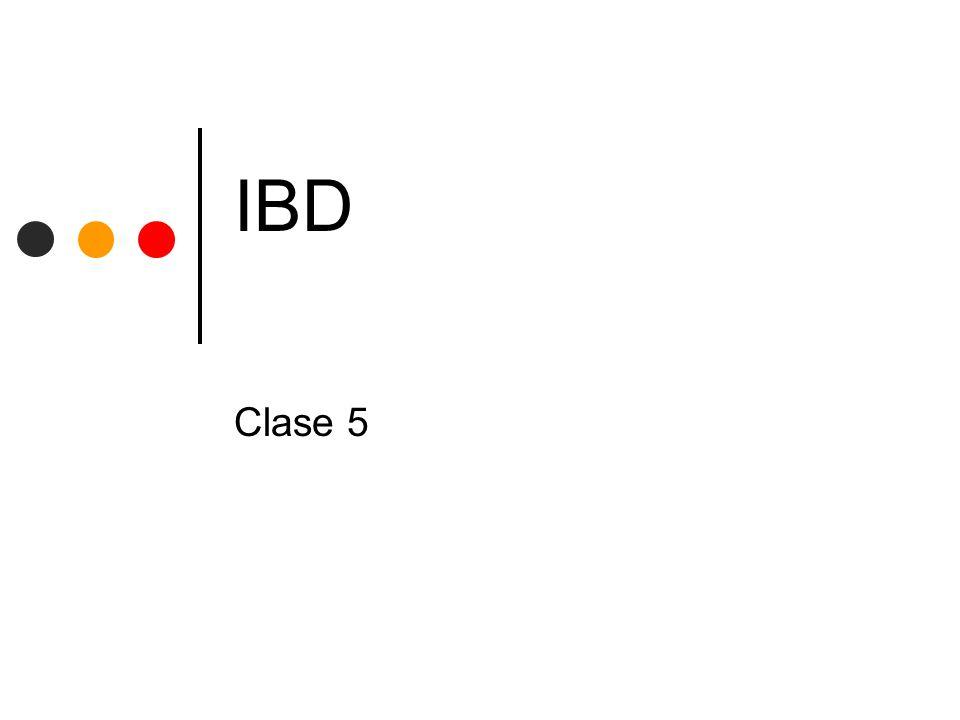 UNLP - Facultad de InformáticaIBD - CLASE 5 12 Búsqueda de datos - Indices Agregar nuevos registros Implica agregar al archivo de datos y al archivo de indices Archivo de datos: copiar al final (se debe saber el NRR (fija) o distancia en bytes (variable) para el índice) Índice ordenarse con cada nuevo elemento en forma canónica (en mem.), setear el flag anterior Eliminar un registro Arch.
