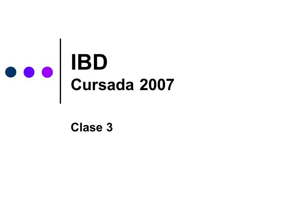UNLP - Facultad de InformáticaIBD - CLASE 3 22 Archivos Llave o clave Se concibe al Registro como la cantidad de info.