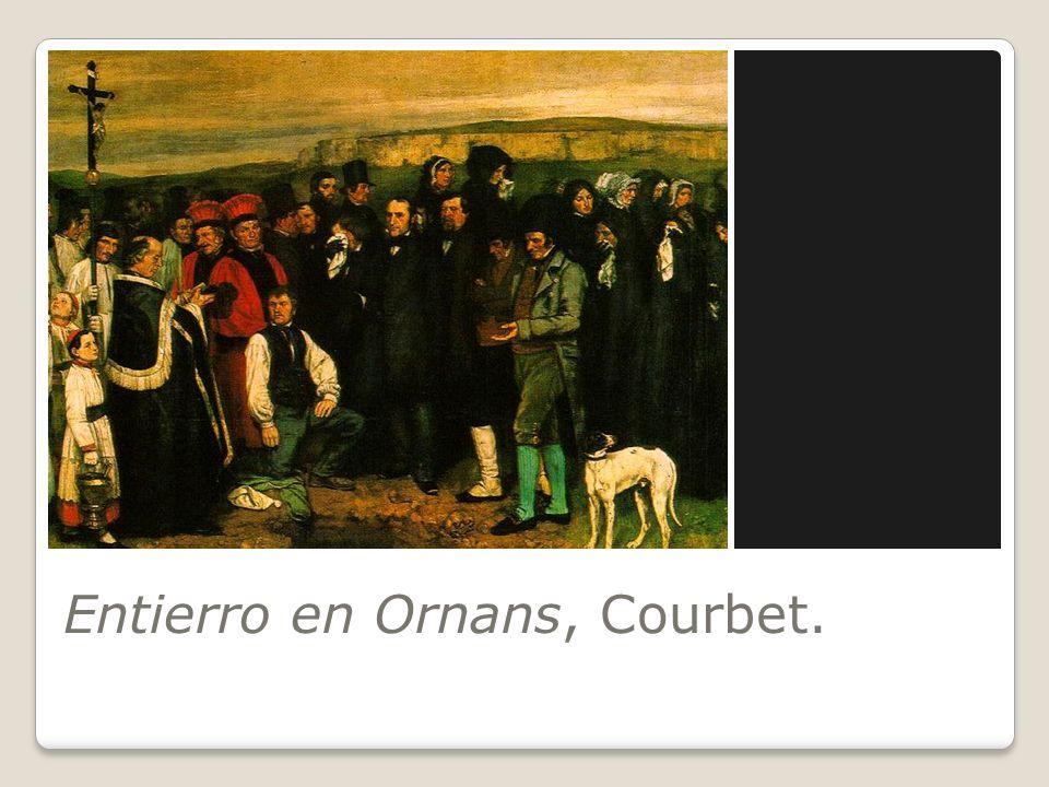 Entierro en Ornans, Courbet.