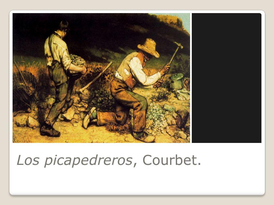 Los picapedreros, Courbet.