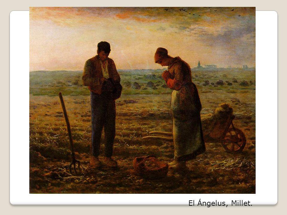 El Ángelus, Millet.