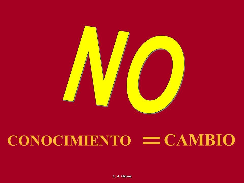 C. A. Gálvez CAMBIO = CONOCIMIENTO