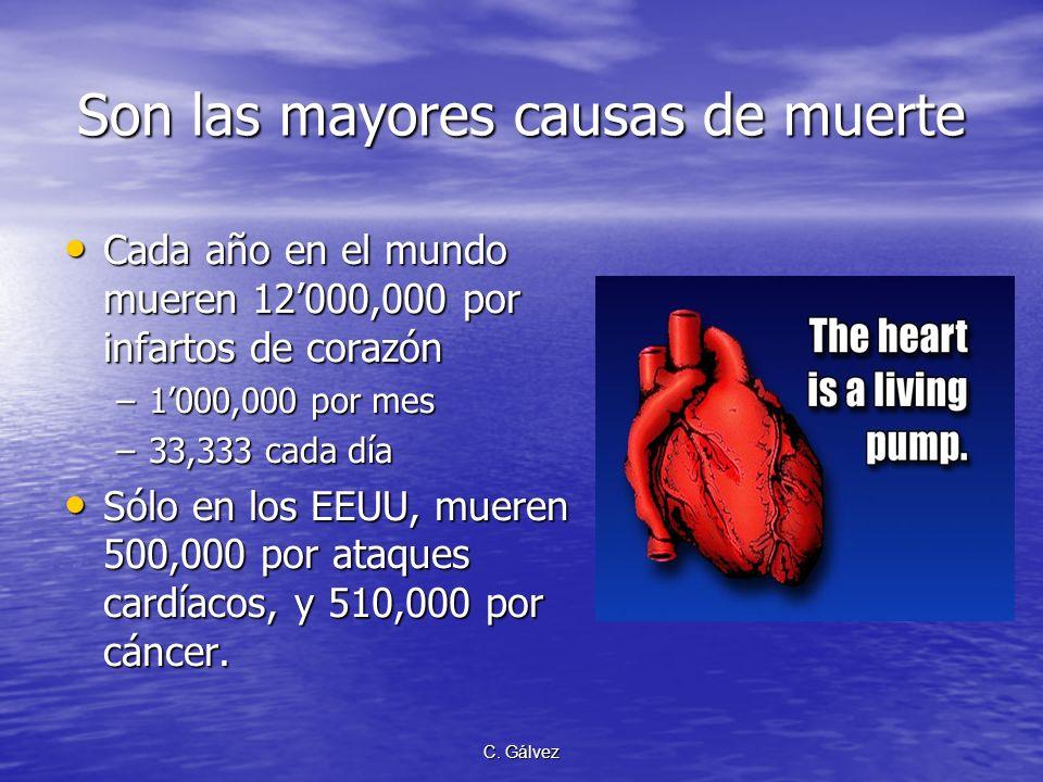 C. Gálvez Lista de enfermedades crónicas Enfermedades del sistema circulatorio: –C–C–C–Cardiovasculares –H–H–H–Hipertensión arterial –A–A–A–Arterioscl
