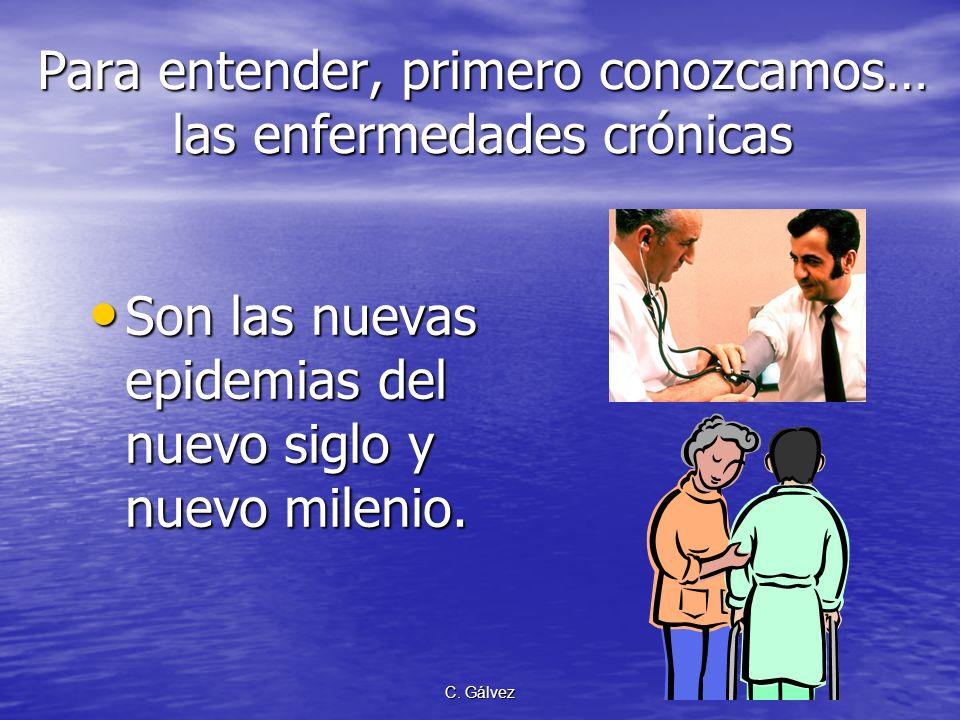 C. Gálvez Epidemiología Conductual de las Enfermedades Crónicas ¿qué es ? Epidemiología Conductual de las Enfermedades Crónicas ¿qué es ?