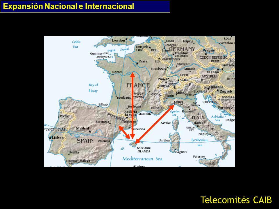Expansión Nacional e Internacional Telecomités CAIB