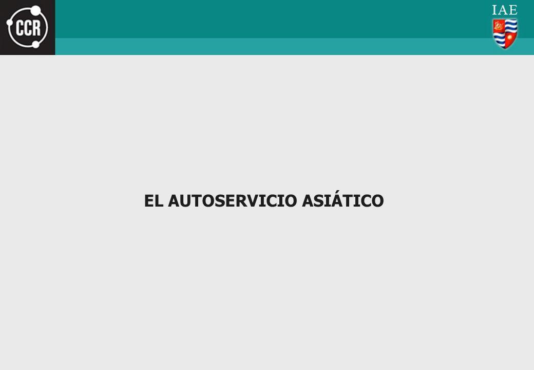 EL AUTOSERVICIO ASIÁTICO