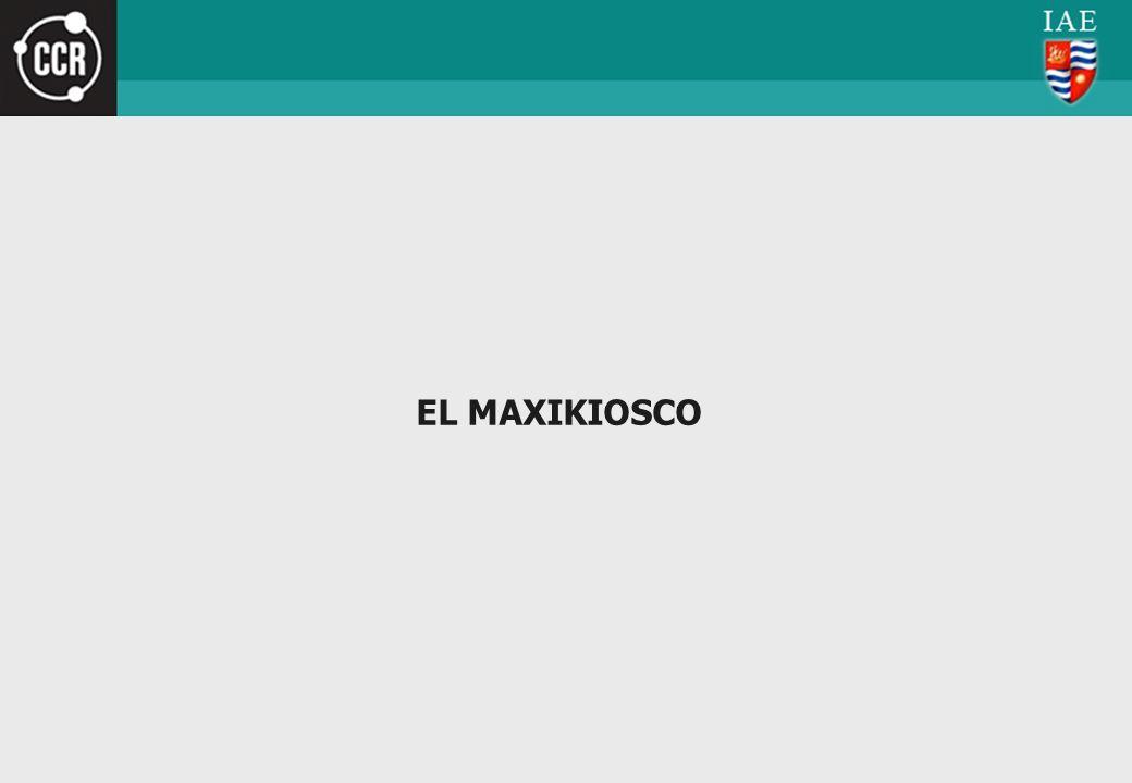 EL MAXIKIOSCO