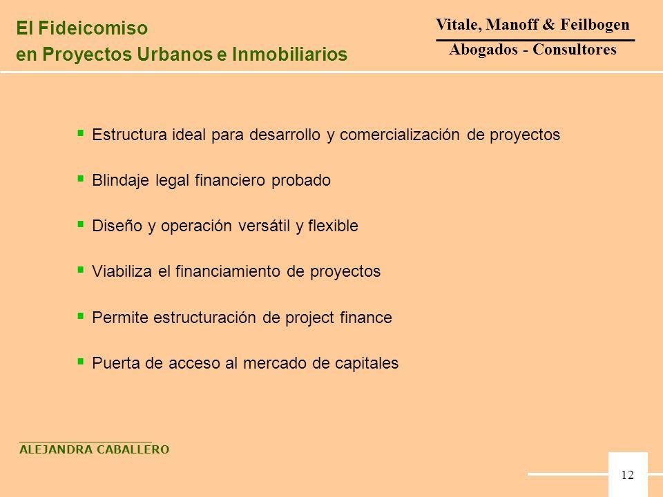 Estructura ideal para desarrollo y comercialización de proyectos Blindaje legal financiero probado Diseño y operación versátil y flexible Viabiliza el