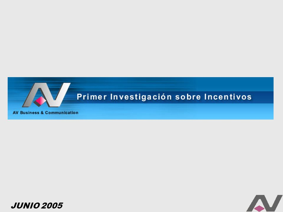 AV Business & Communication, la primer Full Service Incentive & Marketing Company de la Argentina, desarrolló la primera Investigación que permitirá arrojar un poco de luz acerca de las prácticas de Motivación en las empresas de Latinoamérica.